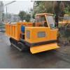 厂家直销农用橡胶履带运输车 整车可定制 柴油履带自卸翻斗车
