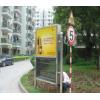 广州海珠区乐峰广场周边小区广告灯箱广告发布公司