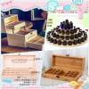 厂家直销精油木盒定做实木精油收纳盒展示盒