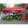 湖北鄂州市排档雨篷、烧烤蓬、夜宵夜市雨篷厂家制作