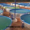 镀锌钢板支架养殖鱼池生产厂家-帆布养殖水池设计定做