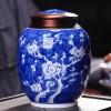 高档手绘陶瓷茶叶罐支持一件代发
