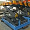 升降平台液压电动剪刀叉举升机卸货油缸台固定移动装卸导轨式货梯