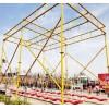 多人摇摆秋千网红桥设备防护气垫户外农庄景区大型双排网红秋千
