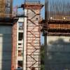 通用安全爬梯工地施工爬梯挂网安全爬梯