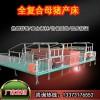 贵州猪场母猪分娩限位栏产床双位母猪产床畜牧设备厂家