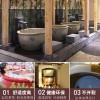 景德镇手工温泉日式泡澡缸 户外陶瓷泡澡缸 浴缸定制厂家