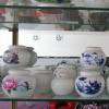 陶瓷茶叶罐 密封储物罐 家用防潮密封装茶叶罐子 储物茶缸大号