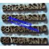 ippc模具商标logo模具熏蒸烙印机塑料皮革模具轮胎日期模