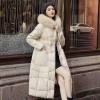 优雅出彩冬季女装 长款女式羽绒服 品牌折扣女装尾货批发