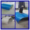 厂家供应 皮带输送机彩钢防雨罩 防尘罩 可加工定制