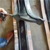 中平式钢边橡胶止水带的接头连接方式